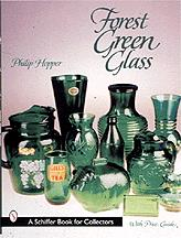 Forest Green Glass Book